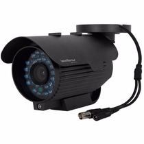 Kit 3 Câmeras Infra Intelbras Vm325 E 3 Pares Balun Xbp 301