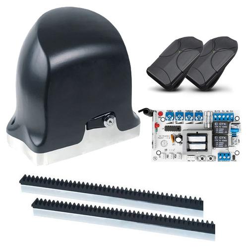 Kit Motor Para Portão Eletrônico Deslizante Ppa 1/4hp Brinde