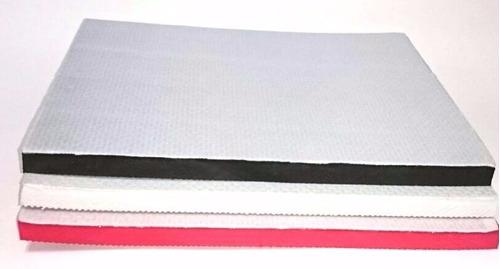 Kit placas de borracha com tecido de poli ster r 55 00 - Placas de poliester ...