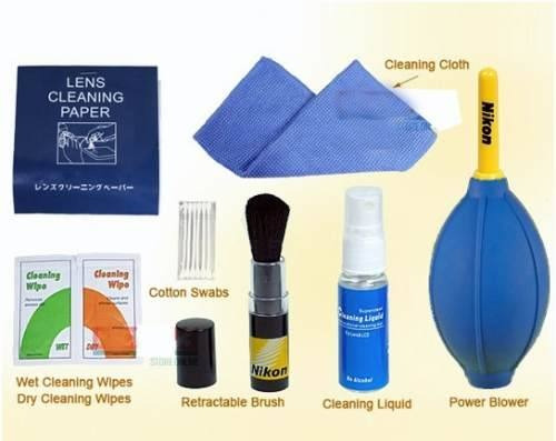 Kit Profissional De Limpeza De Lentes(7 Em 1) Nikon
