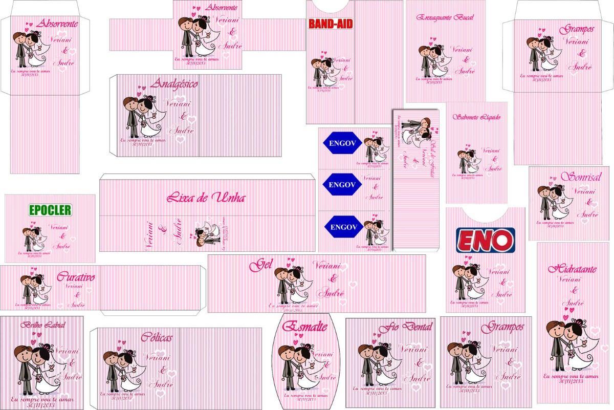 Kit Banheiro Para Casamento Goiania : Kit toilets banheiro casamento rosa r no