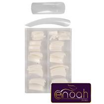 Caixa 500 Tips Unhas Acrilica Natural Gel Acrigel Porcelana