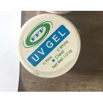 Gel Uv Acrygel Clear Pink White Gel Construtor De Unhas