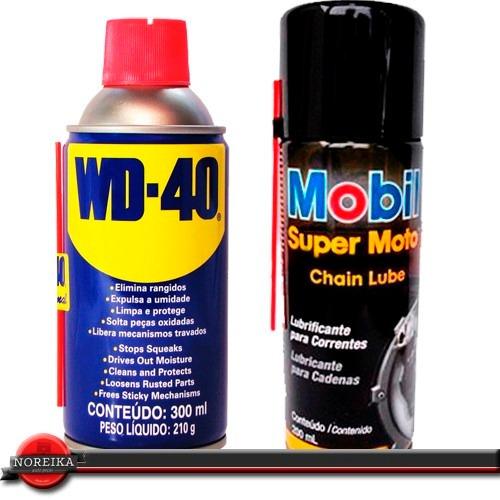 kit wd40 lubrificante spray corrente mobil super moto 200 r 54 23 em mercado livre. Black Bedroom Furniture Sets. Home Design Ideas