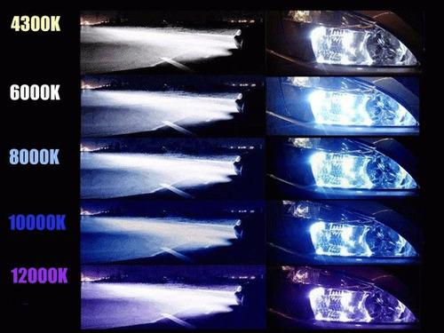 Kit Xenon Hid 6000k 8000k 10000k 12000k H1 H3 H4 H7 H11 Hb4