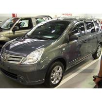 Nissan Livina Calha De Chuva / Defletor Orig. Tg Pol