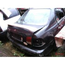 Aerofólio Para Honda Civic Sedan 1996 A 2000