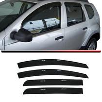 Calha Defletor Chuva Renault Duster 4 Portas 11 12 13 Fumê