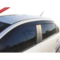 Calha Defletor Chuva Novo Gol Voyage G6 Design Esportivo