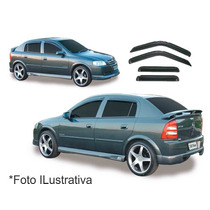 Jogo Calha De Chuva Defletor Astra Hatch E Sedan 99-0 4porta