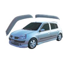 Renault Clio - Jogo De Calha Chuva Defletor Tg Poli 29001