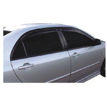 Toyota Corolla Jogo De Calha De Chuva Defletor Tg Poli 27001