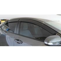 Toyota Novo Corolla 2015 Calha Chuva Defletor Tg Poli 27007