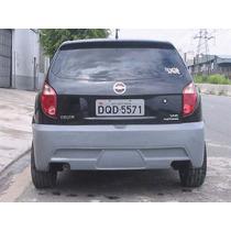Para Choque Traseiro Em Fibra Chevrolet Celta 06/09