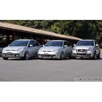 Para Choque Ford Focus Fiesta Ecosport Exclusivo Fibra S/p