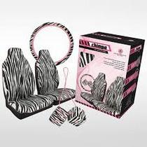 Kit Feminino Zebra (capa Banco + Dados + Capa Volante)