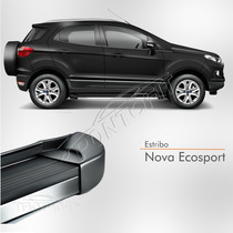 Estribo Nova Ecosport 2012 2013 2014 2015 Preto Ebony