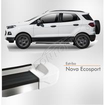 Estribo Nova Ecosport 2012 2013 2014 2015 Branco Artico