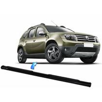 Estribo Tubular Oblongo Preto Renault Duster