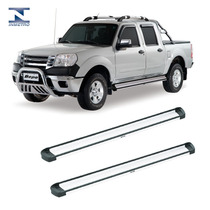 Estribo Elegance Alumínio Ford Ranger Cabine Dupla Até 2012