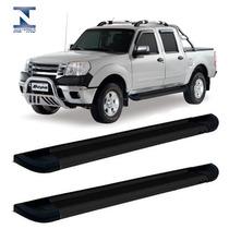 Estribo Lateral Preto Ford Ranger Cabine Dupla Até 2012