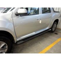 Estribo Tubular Oval Renault Duster Oroch Preto Grafite