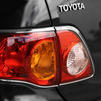 Aplique Cromado Para Lanterna Toyota Corolla 2008/ 2011 Dlaa