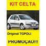 Kit Celta 00/06 Spoiler Lateral + Traseiro Tgpoli Classico