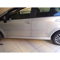 Spoiler Lateral Esportivo Fiat Punto Na Cor Prata Bari