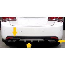 Difusor Esportivo Spoiler Traseiro Chevrolet Cruze Sedan