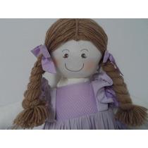 Boneca Porta Fraldas De Luxo - Quarto De Bebê - Para Menina!