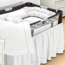 Kit Para Berço Camping Desmontável Completo Enxoval Bebê