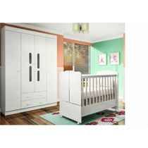 Kits Quarto Infantil Com Guarda Roupa 04 Portas Phoenix Baby