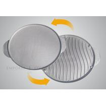 Chapa & Grill Alumínio Fundido 2 Em 1. Churrasqueira Fogão