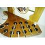 Porta Espetos Em Madeira - Capacidade Para 15 Espetos