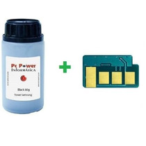 Kit Recarga Toner Samsung D104-scx3200|ml1665|ml1860 Chip+pó