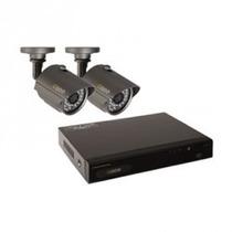 Kit De Vigilância Q-see 4 Canais Com 2 Câmeras Mania Virtual