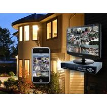 Kit Cftv Dvr + 4 Cam Infra Digital Dome + Fonte + Casbo
