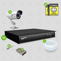 Kit Segurança Dvr Stand Alone 4 Canais Luxvision C/1 Camera