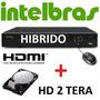 Dvr Intelbras 16 Canais Stand Alone 2014 Vd 3116 + Hd 2 Tb