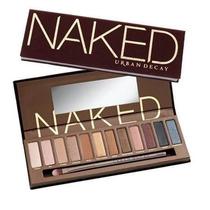 Paleta De Sombras Naked1 - Maquiagem + Pincel + Brinde Mac