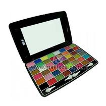 Kit Maquiagem Paleta De Sombras 3d 48 Cores Ruby Rose Hb1048