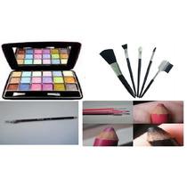 Super Kit De Maquiagem Uma Linda Mulher 8 Íténs Em Leilãod20