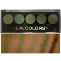 Quinteto De Sombras La Colors Cor Enchanted Tons Verde