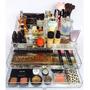 Porta Maquiagem Em Acrílico Organizador 2 Gavetas Grandes