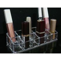 Organizador Em Acrílico Porta Batom/maquiagem 12 Divisórias