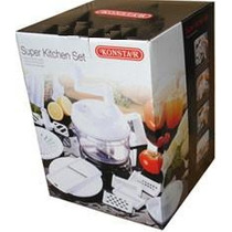 Cortador De Frutas/legumes Super Kitchen Set-haifa Chef Pan