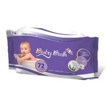 Lenços Baby Bath Com 72 Un