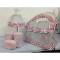 Kit Decoração Para O Quarto Do Bebê Abajur Farmacinha Novo