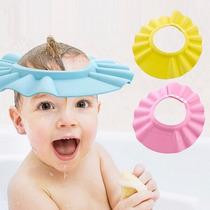 Aba Banho Protege Xampu E Agua Nos Olhos Pronta Entrega